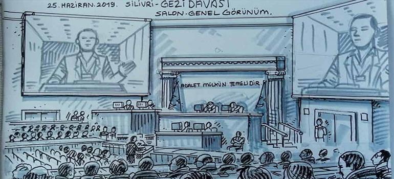 Osman Kavala remains behind bars at Gezi Park trial
