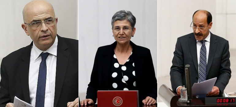Three opposition lawmakers stripped of parliamentary status