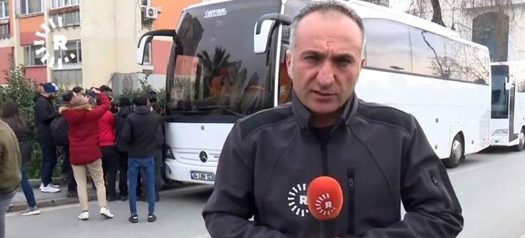 Jailed journalist Rawin Sterk Yıldız's file sent to Istanbul