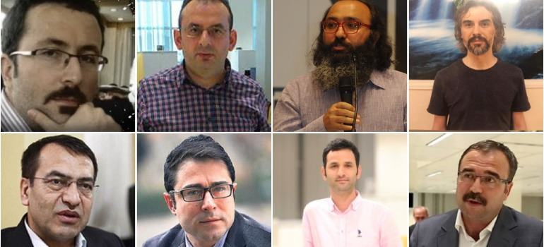Retrial of 8 journalists whose convictions were overturned gets underway
