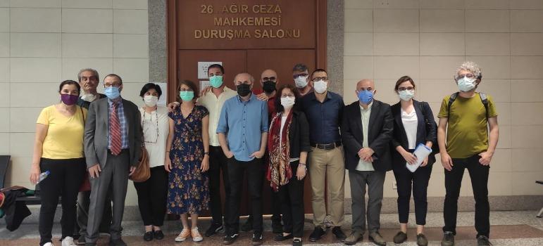Prosecutor seeks sentence for four Cumhuriyet journalists