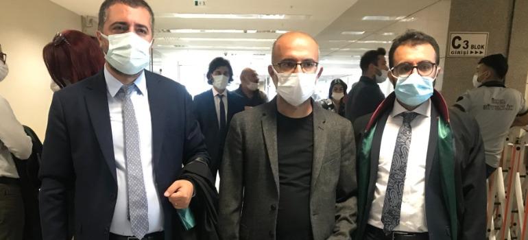 Writer Yavuz Ekinci appears in court on