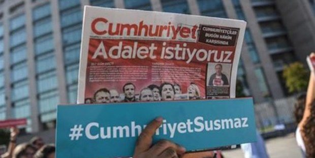 """Cumhuriyet verdict huge blow to freedom of expression"""