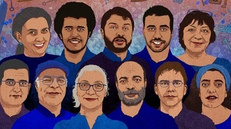 """Prosecutor seeks jail terms for 6 rights defenders in """"Büyükada trial"""""""