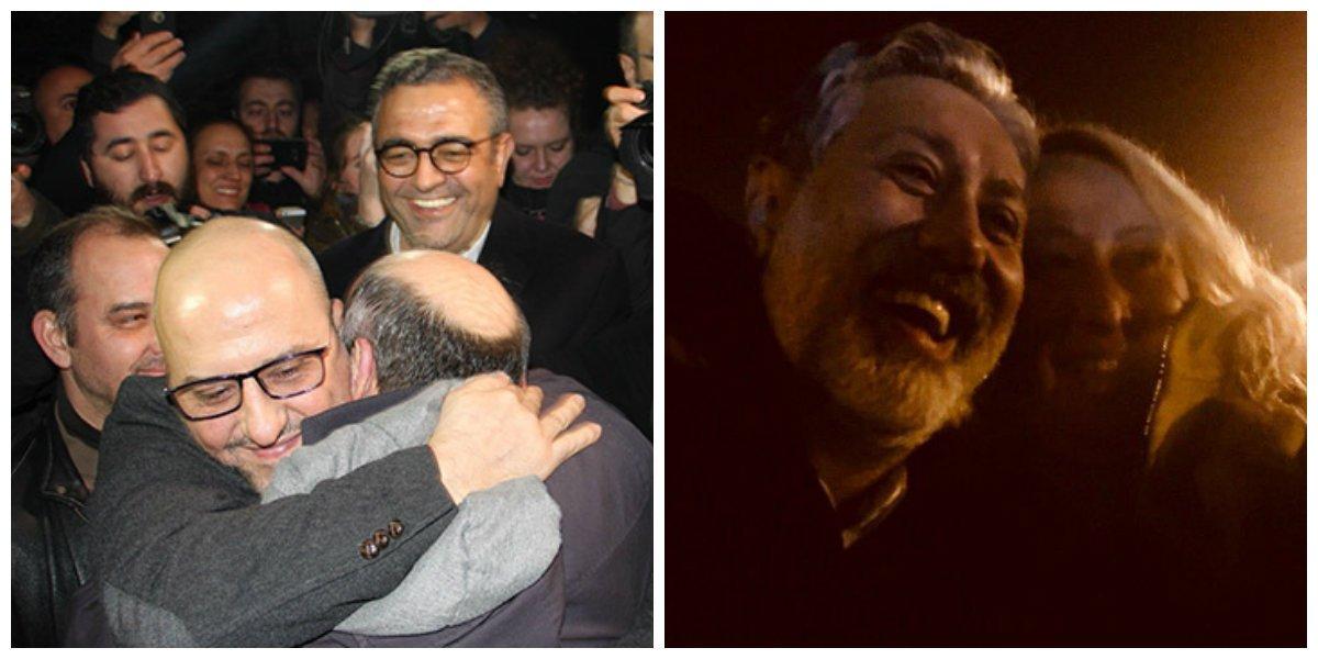 Murat Sabuncu, Ahmet Şık released from prison