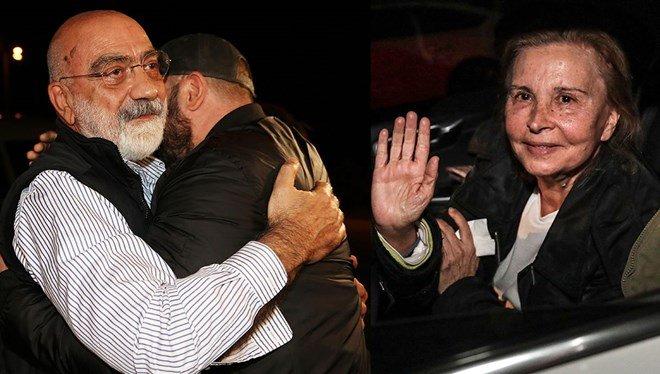 Ahmet Altan, Nazlı Ilıcak released after 3 years inprison